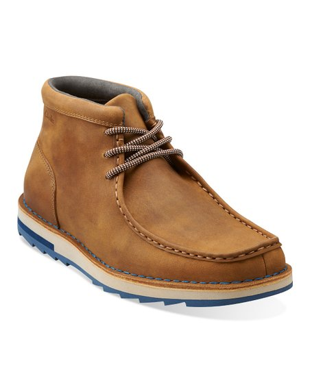 Tan Mumford Folk Lace-Up Shoe