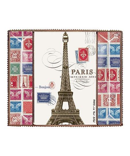 Paris Stamp Bead Picture Frame