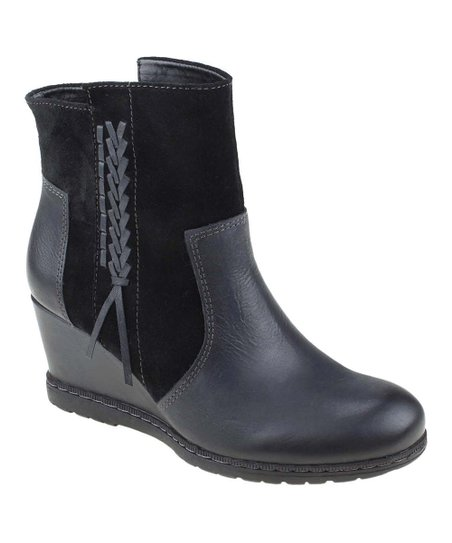 Black Hilltopper Boot