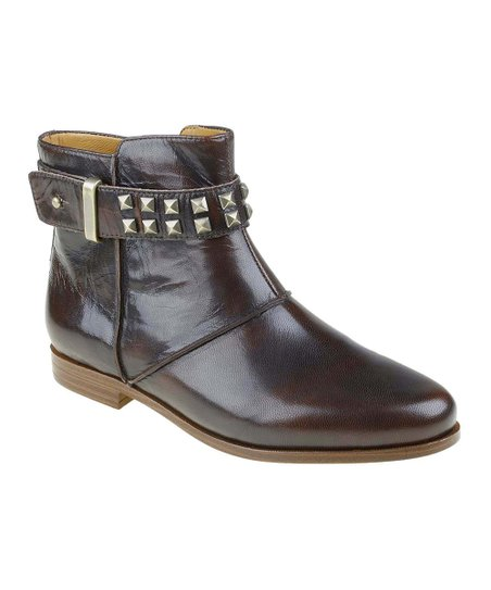 Chestnut Treano Studded Bootie