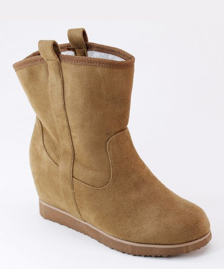 Tan Dual Loop Boot