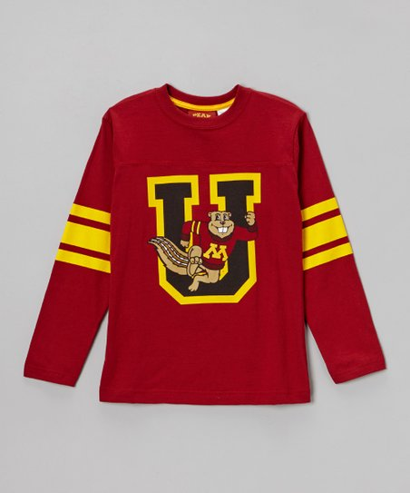 Minnesota Golden Gophers Long-Sleeve Tee - Boys