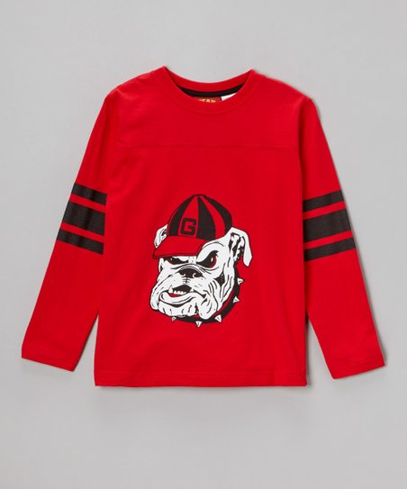 Georgia Bulldogs Long-Sleeve Tee - Boys