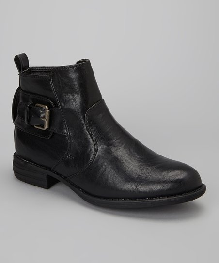 Black Hollin Ankle Boot