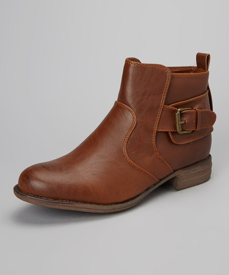 Cognac Hollin Ankle Boot