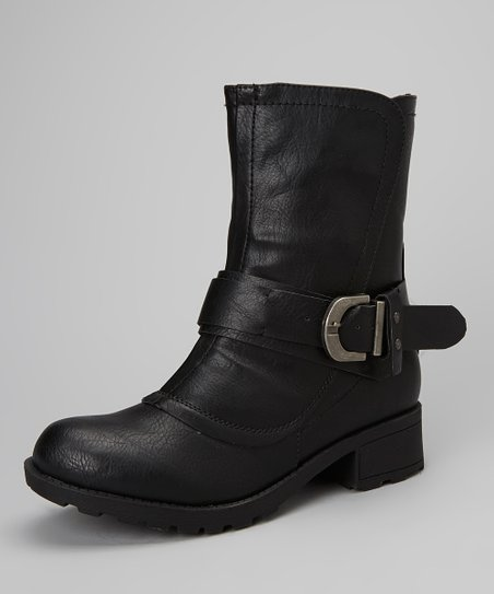 Black Malin Ankle Boot
