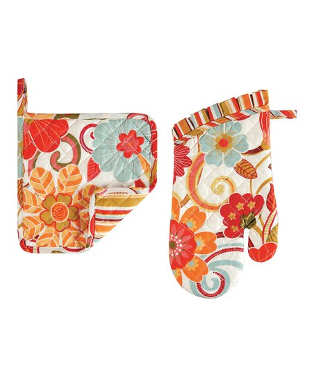 Giselle Pot Holder & Oven Mitt