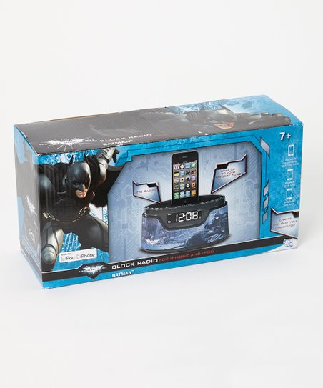 Batman Clock Radio for iPod & iPhone 4/4S