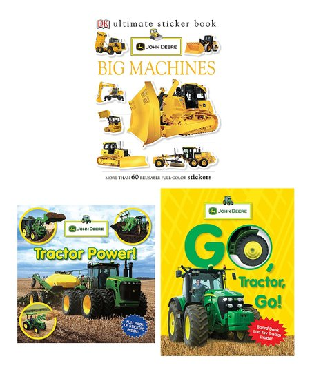 John Deere Tractor Book Set