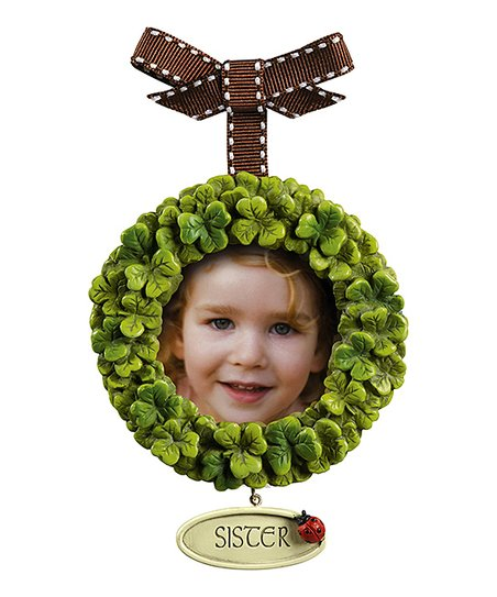 Shamrock 'Sister' Ornament