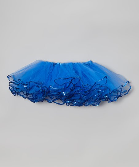 Royal Blue Sequin Tutu - Infant, Toddler & Girls