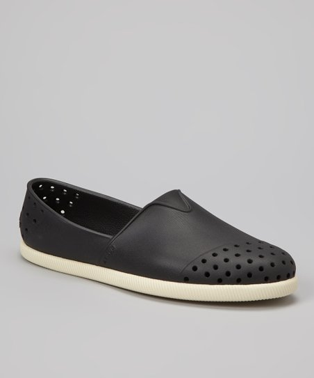 Jiffy Black Verona Slip-On Shoe