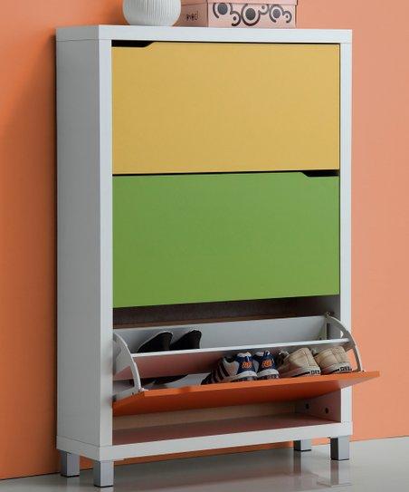 Bright Modern Shoe Cabinet