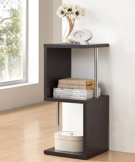 Dark Brown Lindy Modern Shelf