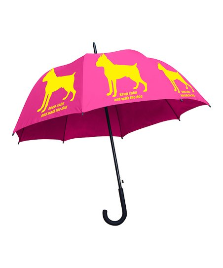 Boxer 'Keep Calm & Walk the Dog' Umbrella