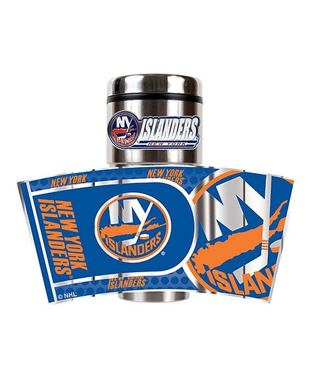 New York Islanders Stainless Steel Travel Tumbler