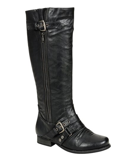 Black Finly Boot