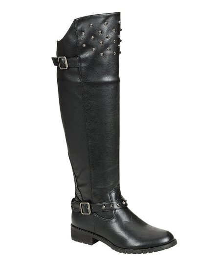 Black Elga Boot