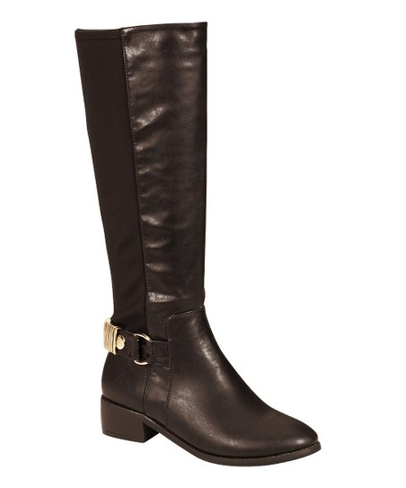 Brown Buckle Alto Boot
