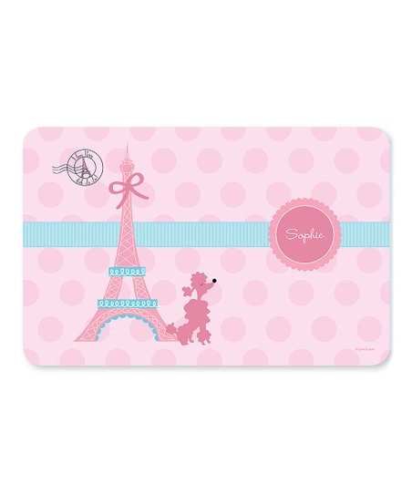 Ohh La La Paris Personalized Place Mat