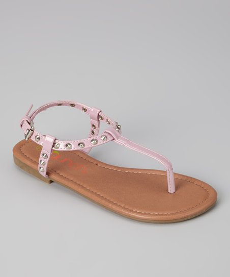 Purple Angie Sandal - Kids