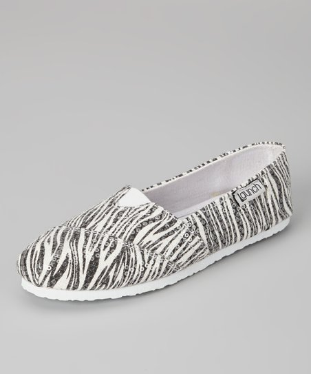 Zebra Slip-On Shoe - Kids