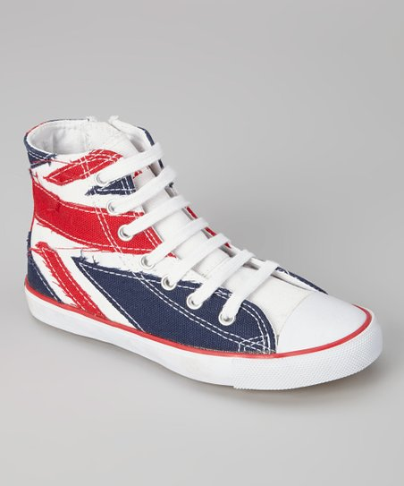 Union Jack High-Top Sneaker - Kids