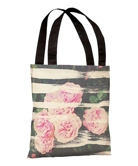 Blooming Strokes Tote