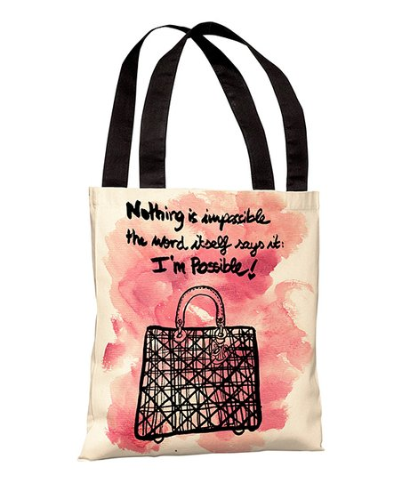 'Nothing is Impossible' Tote
