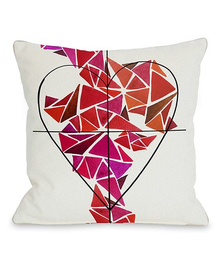 Piece of My Heart Throw Pillow