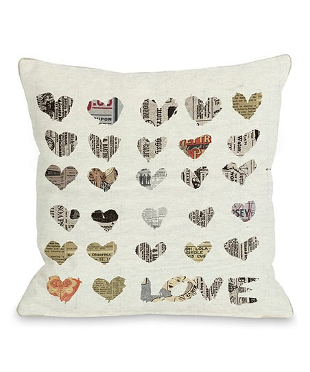 In the Paper Throw Pillow