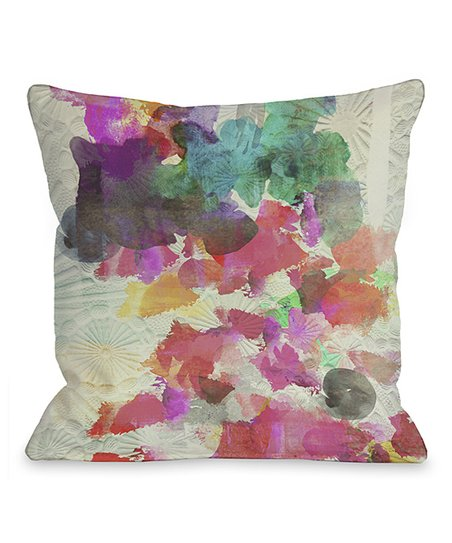 Inside Her Eyes Throw Pillow