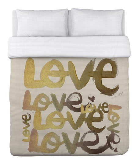 Four-Letter Word Duvet Cover