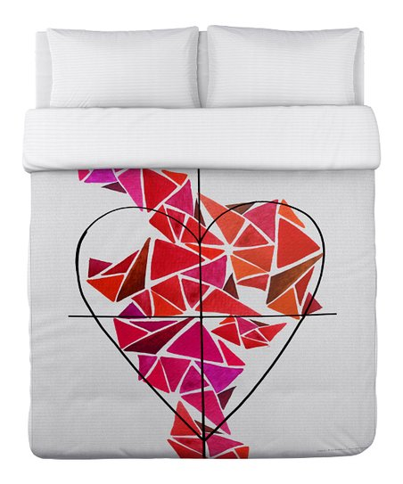 Piece of My Heart Duvet Cover