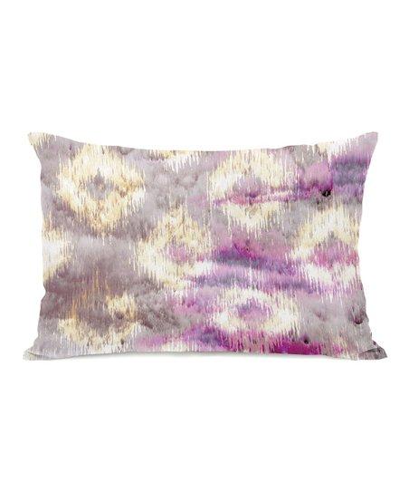 Pink Altaria Rectangular Throw Pillow