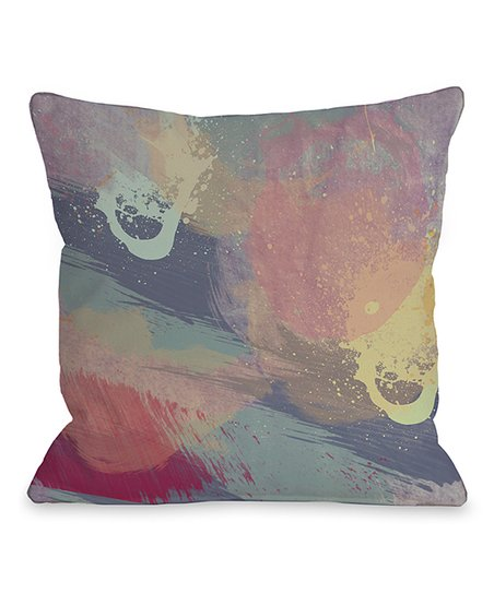 Lavender Mist Throw Pillow