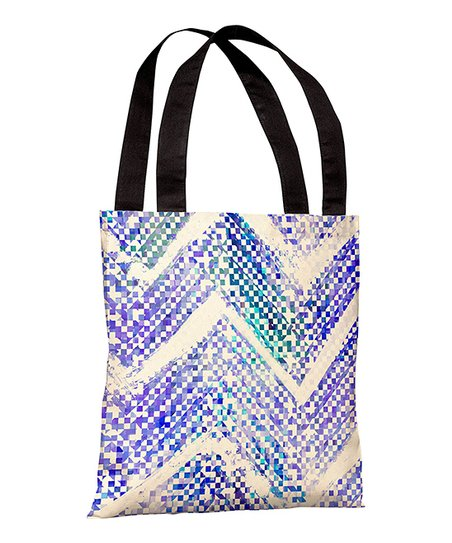 Blue Isolee Tote