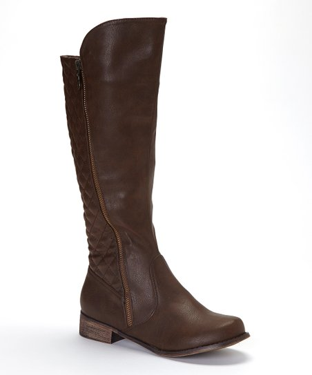 Brown Grace Boot