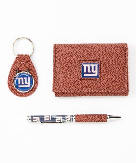 New York Giants Wallet Gift Set
