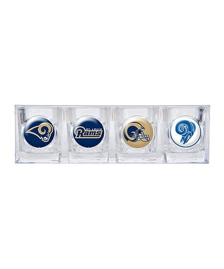 St. Louis Rams Shot Glass Set