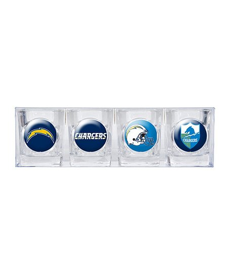 San Diego Chargers Shot Glass Set