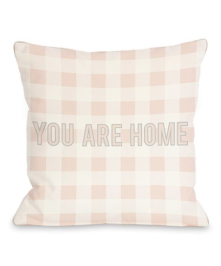 'You Are Home' Throw Pillow