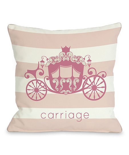 'Carriage' Throw Pillow