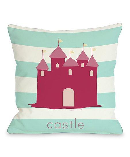 'Castle' Throw Pillow