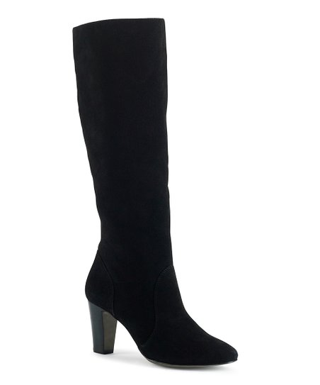 Black Suede Bari Boot