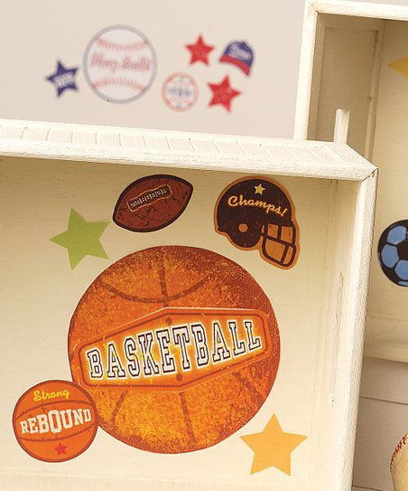 Sports Stamps Wall Decal Set