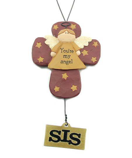 Sister 'You're My Angel' Ornament