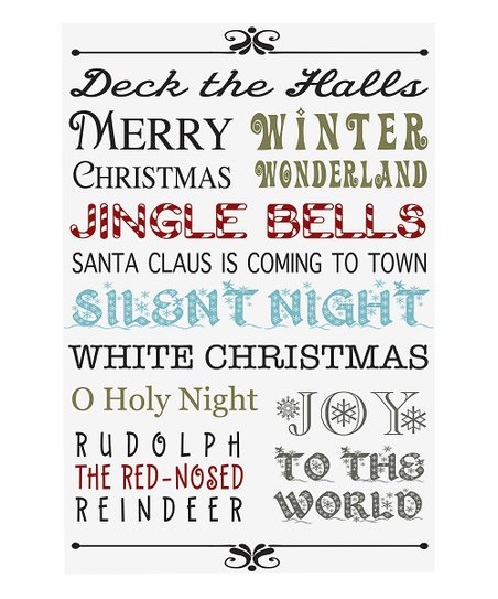'Deck the Halls' Canvas Wall Art