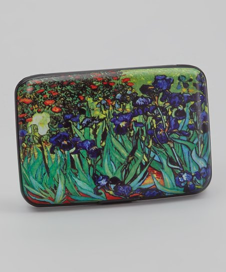 Green & Blue Irises Armored Wallet