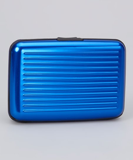 Blue Armored Wallet